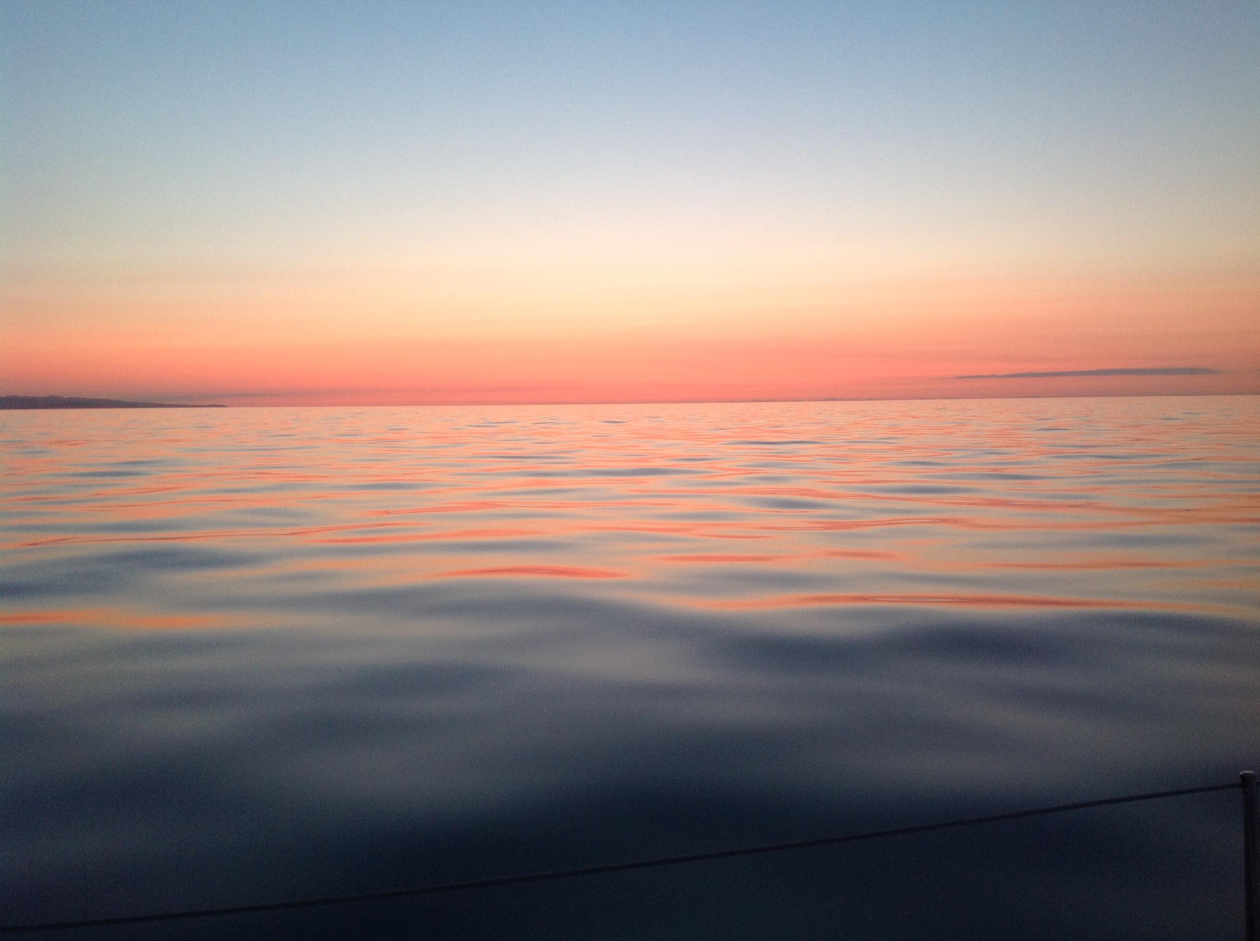 Dawn on the Irish Sea